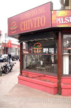 Chivito sandwich - the be-all end-all of sandwiches!