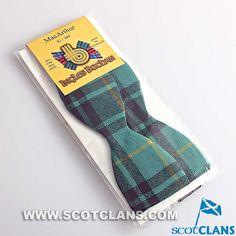 Clan MacArthur Tartan Self Tie Bow Tie