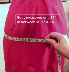 Between Sizes? Use Finished Garment Measurements for a Perfect Fit!