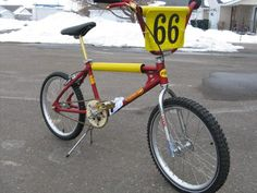 1977 FMF with Cook Bros. fork, Tuf-Neck stem, Bob Reedy Pro pedals and ACS nylon chainring
