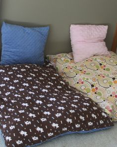 Easy As Pie Floor Pillow. Add A Zipper For Easy Cleaning. Add A Neat