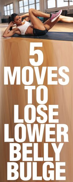 These 5 Moves to Lose Lower Belly Bulge