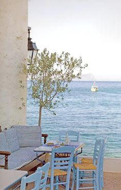 Greek Summer Bliss: by My Paradissi. #greek #travel #charming