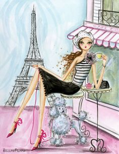 Juniper Valentine: Paris Calling Love, Love, Love!!!!!!