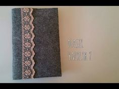 Kendin Yap Keçeden Kitap Kılıfı / DIY Felt Book Cover - YouTube Back To School, Crafty, Journals, Youtube, Baby Things, Journal Art, Entering School, Back To College, Journal