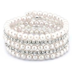 Crystals and pearls go together like peanut butter and jelly, coffee and donuts, Simon and Garfunkel. Yes, they are a perfect match, a heavenly pairing of two things that just belong together. And to