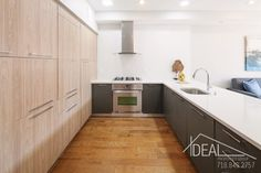 1409 Pacific Street - Spectacular New Condo in Crown Heights! Nyc Real Estate, Real Estate Sales, Open Kitchen, Kitchen Living, Brooklyn Kitchen, Crown Heights, Brooklyn Heights, Central Heating, Rental Apartments