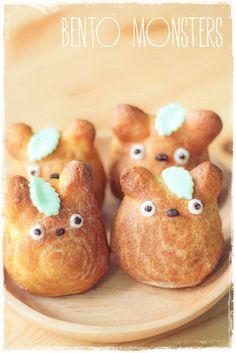 (359) Totoro cream puff recipe | Yummy Treats & Recipes | Pinterest
