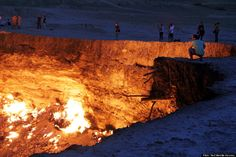 Door To Hell, Turkmenistan There are, as it is, several gateways to hell but this one features an underground gas fire that has been burning...
