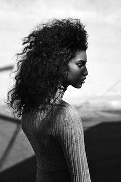 Imaan Hammam - Black Models from Marocco Imaan Hammam |~★♥