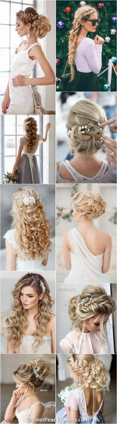 1000+ ideas about Wedding Hairstyles on DeerPearlFlowers / http://www.deerpearlflowers.com/wedding-hairstyles/