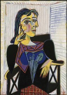 Pablo Picasso, Portrait de Dora Maar
