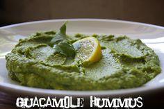Guacamole Hummus dip