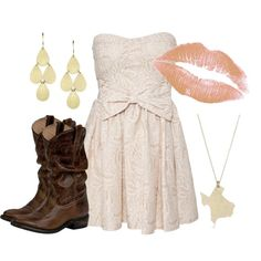 """Don't Mess With Texas"" by qtpiekelso on Polyvore"