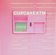 1 cupcake please! 💕Here at Faviana, we are googly eyes over We call it Pink Love, Pretty In Pink, Creepy, My Favorite Color, My Favorite Things, Sprinkle Cupcakes, This Is Your Life, Kawaii, Everything Pink
