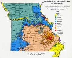 Missouri Map Of Missouri And Missouri Counties And Road Details - St Louis Missouri On Map Of Us