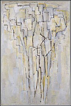The Tree A, 1913, Piet Mondrian