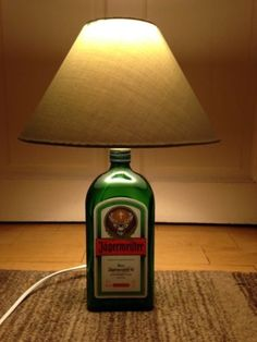 Jagermeister-039-Mains-Bottle-Lamp-039-with-Shade