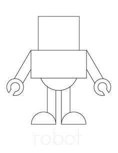 Draw a robot at school