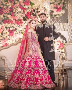 Image may contain: one or more people and people standing Wedding Outfits For Groom, Pakistani Wedding Outfits, Pakistani Dresses Casual, Pakistani Wedding Dresses, Pakistani Dress Design, Bridal Outfits, Nikkah Dress, Indian Outfits, Bridal Mehndi Dresses