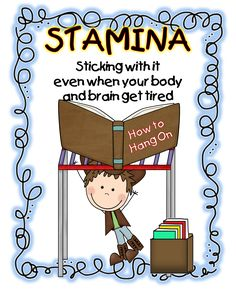 Hello Everyone!   I hope I'm not interrupting and interfering with your own stamina building! :) But I just had a quick post about our sta...