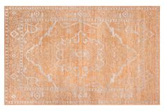 Auley Rug, Brown/Silver