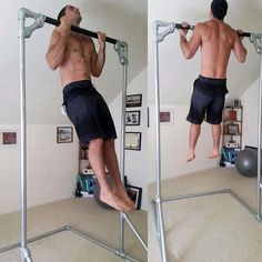 Choose the length of your free standing rigs stall bar plans png diy pull up bar br build your own pull up bar freestanding Outdoor Pull Up Bar, Diy Pull Up Bar, Best Pull Up Bar, Outdoor Gym, Homemade Pull Up Bar, Homemade Gym Equipment, Best Gym Equipment, No Equipment Workout, Fitness Equipment