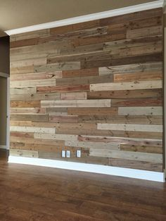 Amazing results with various mixtures of vinegar, steel wool & brewed tea on new pine boards. Pallet Fireplace, Pallet Walls, Fireplace Wall, Wood Panel Walls, Plank Walls, Wood Paneling, Wooden Accent Wall, Slat Wall, Wood Wall
