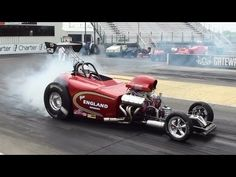 Jim England Dragster 141 MPH in 4.8 Seconds - Eighth Mile Racing Gateway Motorsports Park - YouTube
