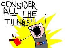 NPR & hyperbole? Fanfreakingtastic.