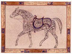 horses in Islamic art - Google Search