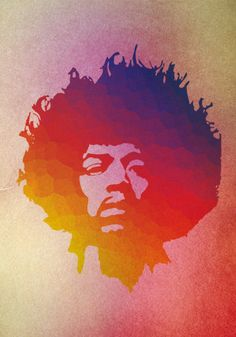 jimi hendrix, music, rock n roll, poster, print, digital illustration, wall decor, home decor, gift, etsy