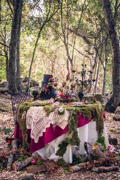 Bohemian picnic.