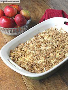 Gluten Free No Sugar Added Apple Crisp