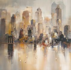 Morning Mist (Hand Embellished). Giclée. Wilfred Lang