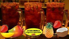 #Viernesdepasarlasuper #aquinohayfrio #micheladas de Sabores y están riquisimas #mango #piñacoco y #fresa #ellugardelagentebonita 8189991030