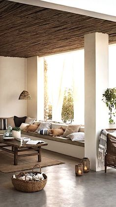 Inspirational ideas about Interior Interior Design and Home Decorating Style for Living Room Bedroom Kitchen and the entire home. Curated selection of home decor products. Decor, Home, Italian Decor, Mediterranean Style Homes, Living Decor, Interior Design, House Interior, Living Spaces, Home Deco