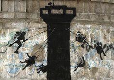 banksy gaza latest street interventions