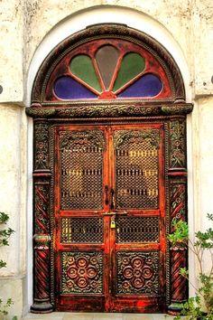 Qatar authentic door design!