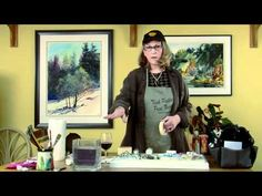 Gayle Weisfield - Watercolor Supplies - Misc - YouTube