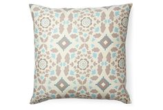 One Kings Lane - Style Steals - Kingdom 16x16 Cotton Pillow, Taupe