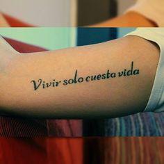 29 meilleures images du tableau Tatouage phrases en espagnol