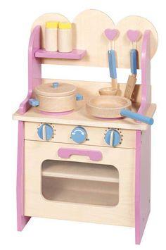 Cuisinière en bois pour enfant, Goki
