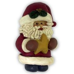 Christmas Pin - Santa with Star *Buy 1 Get 1 Free* . $7.95