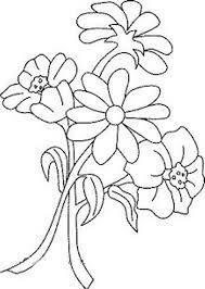 Resultado de imagem para dibujo de flores para bordados con lana sobre arpillera