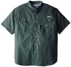 Columbia Men's Bonehead Short Sleeve Shirt, Commando, X-Large