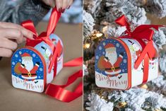 This year, skip the expensive ornaments and lighting and make your own Dollar Tree Christmas decorations. Just add a little elbow grease to make these Christmas DIY projects shine. Frugal Christmas, Dollar Tree Christmas, Homemade Christmas, Diy Christmas Gifts, Christmas Projects, Holiday Crafts, Christmas Decorations, Christmas Ornaments, Christmas Ideas