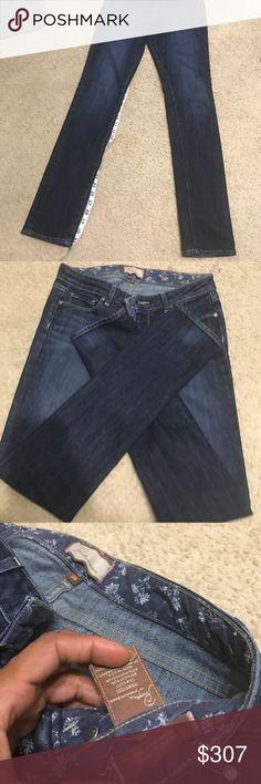 Paige skyline drive Size 28 classic rise 12' peg Paige Jeans Jeans Straight Leg