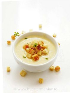 supa crema de telina Cheeseburger Chowder, Thai Red Curry, Vitamins, Cooking, Ethnic Recipes, Desserts, Food Ideas, Kitchen, Chowder
