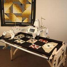 crown longarm quilting machine